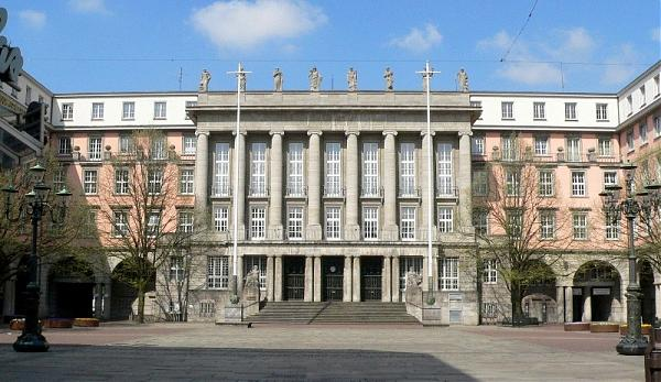 Rathaus in Wuppertal-Barmen